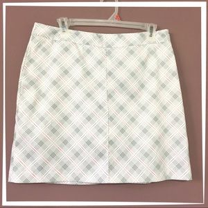 Greg Norman plaid golf skort